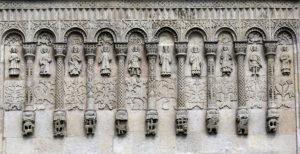 Архитектура собора в городе Владимире