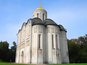 Дмитриевский собор города Владимира