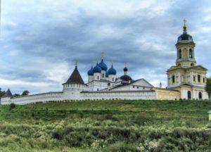Панорама монастыря