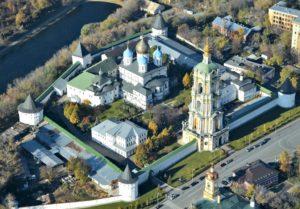 Возрожденный Новоспасский монастырь