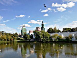 Панорама Новодевичьего монастыря