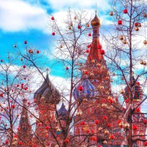 Монастыри и храмы Кремля и Красной площади