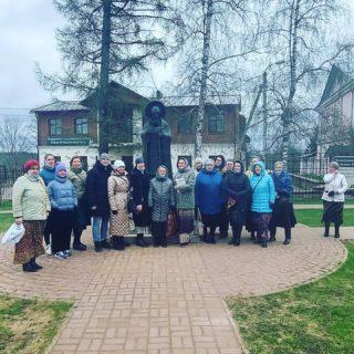 Печоры. Памятник прп. Корнилию. 24.04.2021